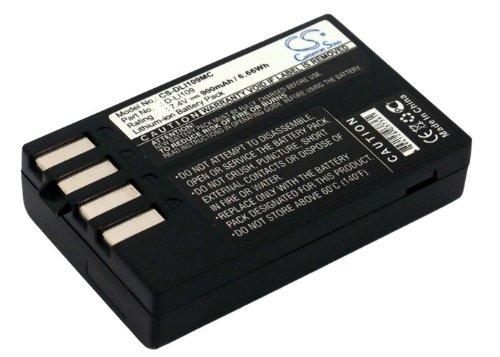 Li-ion 800mAh Battery for Pentax Megazoom X70, Optio I-10, Optio RZ10, Optio RZ10 Black, Optio RZ10 Lime Replacement for Pentax Camera Battery