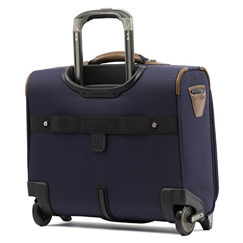 Travelpro Crew 11-Rolling Underseat Tote Carry-On Bag, Patriot Blue