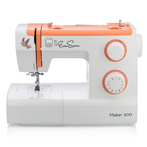 EverSewn Maker 200 - Mechanical Sewing Machine - Professional Grade: 23 Stitches, Stitch Width +...