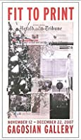 ポスター アーティスト不明 ハーレー Fit to Print2007 collage 額装品 アルミ製ベーシックフレーム