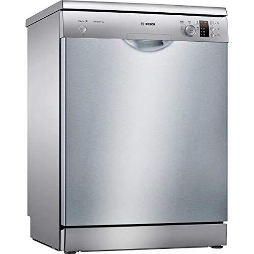 Lave vaisselle Bosch SMS25AI04E - Lave vaisselle 60 cm - Classe A+ / 46 decibels - 12 couverts - Inox bandeau : Silver - Pose libre