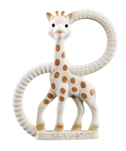 Vulli - 200318 So'Pure - Sophie la Girafe - Anneau de Dentition - Version Souple