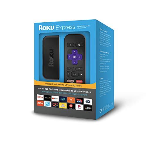 Roku Streaming-Player schwarz (Französische Version)