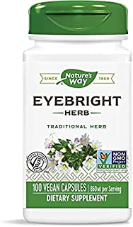 Nature's Way Eyebright Herb, 100 Vegetarian Capsules