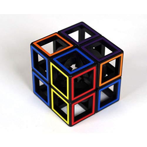 Meffert's- Hollow 2x2 Cube Rompecabezas, Multicolor (Recent Toys M5095)