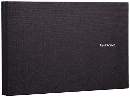 SEKISEI アルバム ポケット ハーパーハウス レミニッセンス ミニポケットアルバム 2Lサイズ 40枚収容 2L 21~50枚 布 ブラック XP-40G