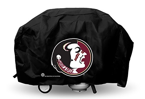 Rico NCAA Florida State Seminoles Deluxe Grill Cover, 68 x 21 x 35-Inch, Black