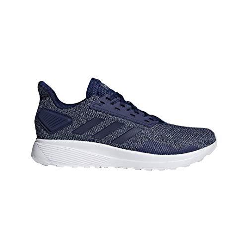 adidas Men's Duramo 9 Running Shoe, Dark Blue/Dark Blue/Grey, 12 M US