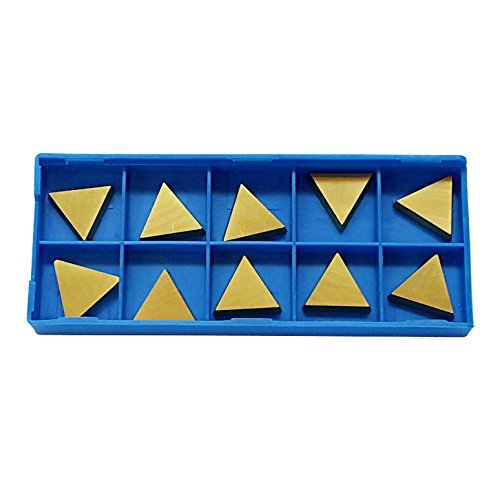 10 40% OFF Cheap Super-cheap Sale PC TPG-322 Tin Coated Turning Carbide Inserts