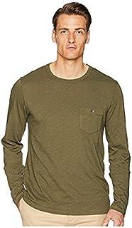 トッドスナイダー Todd Snyder メンズ トップス シャツ ブラウス Olive Made In The USA Pocket Long Sleeve T-Shir [並行輸入品]