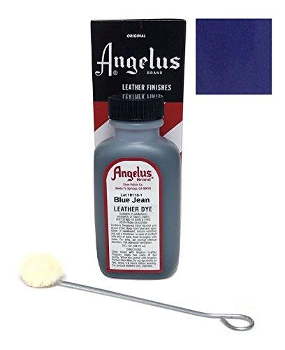 Angelus Leather Dye, 3 oz, Blue Jean 20 Count