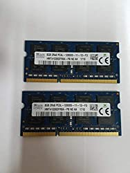 Hynix original 16GB (2 x 8GB), 1600MHz memory module for $95.00