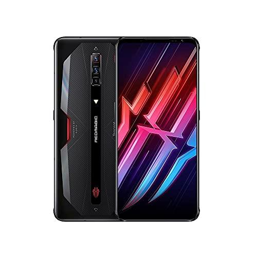 Nubia Red Magic 6 5G NX669J (8GB+128GB) グローバル版 / 6.8 inch/Dual SIM / 64+8+2MP Triple Camera / 5050mAh/Google play/日本語対応/SIMフリー (Black/ブラック)