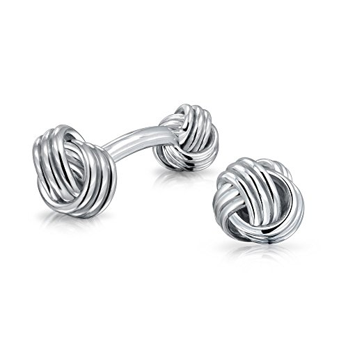 10 best cufflinks silver knot for 2021