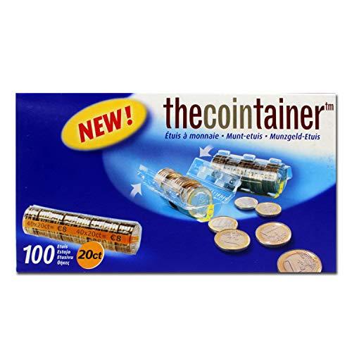 effektivo 10342plástico casquillos de monedas