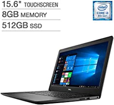 """Dell Inspiron 15.6"""" FHD LED-Backlit Touchscreen Laptop, Intel Core i3-8145U up to 3.90GHz, 8GB DDR4, 512GB PCIe NVMe SSD, ..."""