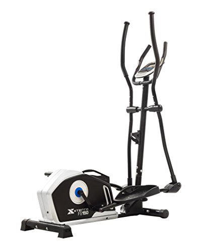 "XTERRA Fitness FS150 Elliptical Trainer Equipment, 50"" x 23"" 64.2"", Black"