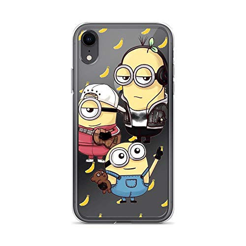Horseshoe's Compatible with iPhone 7/8 Case Stuart The Minion Happy Face American Animated Movies Pure Clear Phone Cases Cover