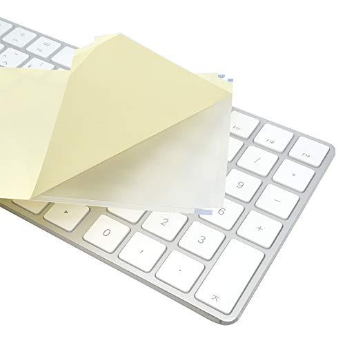 フルフラットキーボードカバー (Apple Magic Keyboard (テンキー付き・ワイヤレス), 極薄ポリウレタンエラストマー) PTKP170