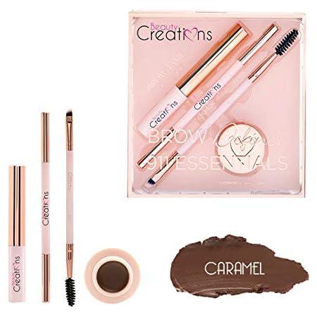 Kit cejas essentials Caramel Beauty Creations 4 piezas