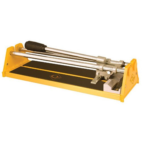Tile Cutter, 1/2 in Cap, 14 in, Yellow