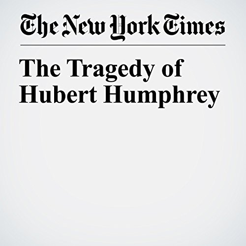 The Tragedy of Hubert Humphrey copertina