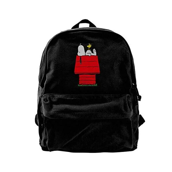 41NjbDHf3uL. SS600  - Mochila de lona Snoopy Sleep Above The Red House para gimnasio, senderismo, portátil, mochila para hombres y mujeres