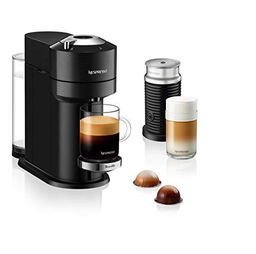 Nespresso by Breville Vertuo Next Classic Black Coffee and Espresso Machine Bundle