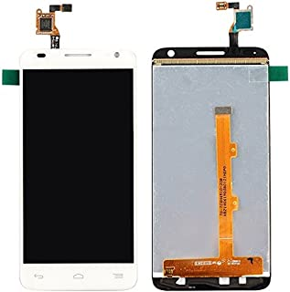 Excellent Replacement Parts Compatible with Alcatel One Touch Idol 2 Mini S / 6036 / 6036Y LCD Screen + Touch Screen Digitizer Assembly Durable Mobile Phone Accessories (Color : White)