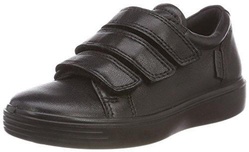 ECCO Jungen S7 Teen Sneaker, Schwarz (Black 51052), 27 EU