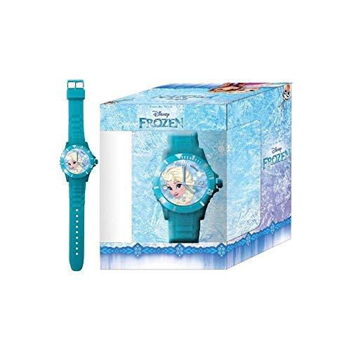 Die Eiskönigin 000561847 Uhr in Farbiger Box, Mehrfarbig