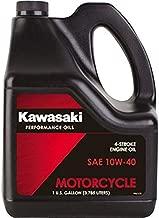 Kawasaki 4-Stroke Motorcycle Engine Oil 10W40 1 Gallon K61021-302