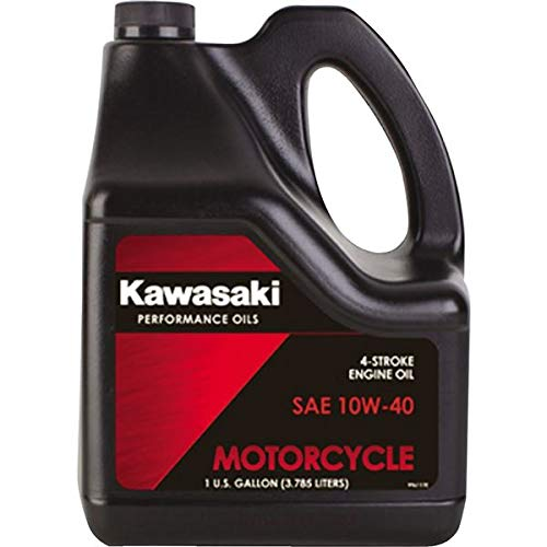 Kawasaki 4-Stroke Motorcycle Engine Oil 10W40 1 Gallon K61021-302