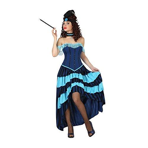 Longue Déguisement bleue bata cabaret charleston - années folles - Femme - XS-S (ADO)