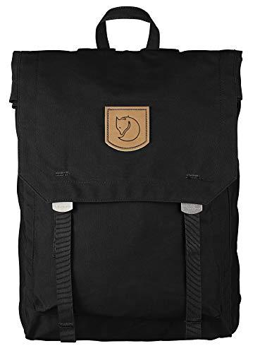 Fjällräven Unisex Rucksack Foldsack No.1, Black, 40 x 30 x 15 cm, 16 Liter, 24210