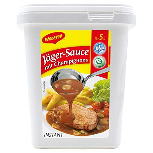 Maggi Jäger-Sauce mit Champignons, vegan, 1er Pack (1 x 600g Gastro Box)