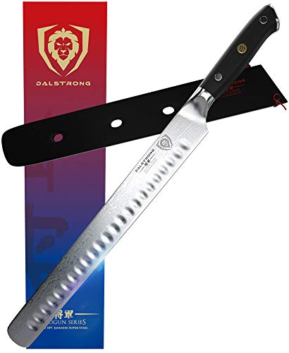 DALSTRONG Slicing Carving Knife - 12' Granton Edge - Shogun...
