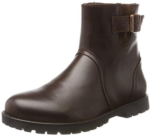 BIRKENSTOCK Shoes Damen Stowe Biker Boots, Braun (Espresso), 41 EU