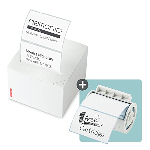 Nemonic Label - Label Printer & Sticky Notes Printer   Thermal Label Printer   Label Maker   Sticker Printer   Bluetooth Label Printer   iOS & Android & MS Office