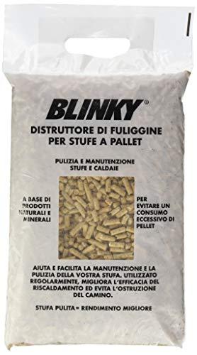 Deshollinador para estufas de pellets, paquete de 2kg