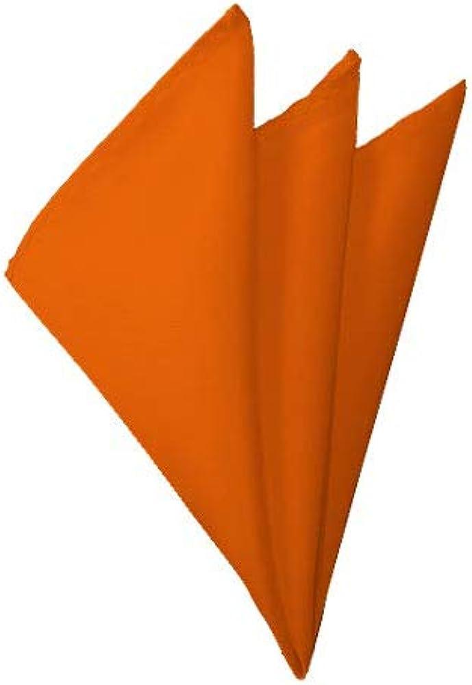 Solid Orange Reservation Los Angeles Mall Handkerchief
