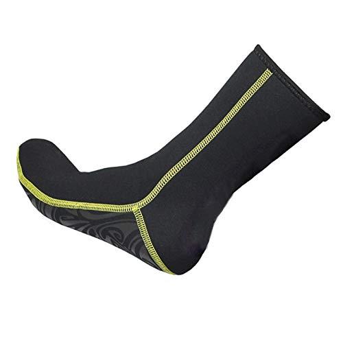 DAUERHAFT Calcetines de Surf a Prueba de frío, Antideslizantes Hechos de Spandex Tela de Nailon Diivng Equipemnt, para Hombres, Mujeres, para Hacer Snorkel, Surf(S)