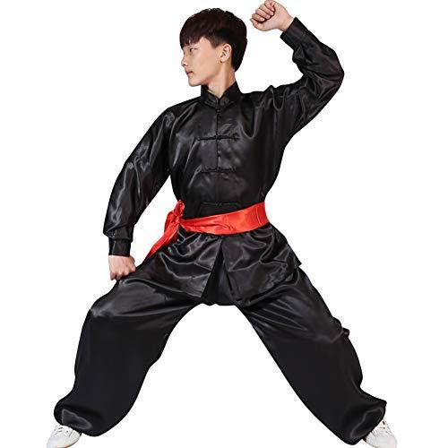 Gtagain Uniforme Tradizionale Uniformi Abbigliamento - Arti Marziali Unisex Adulto Bambini Ragazzi Ragazze Manica Lunga Donne Shaolin Kung Fu Uomini Cinese Costumi