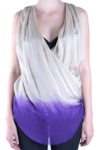 Dondup Luxury Fashion Womens MCBI13792 White Tank Top | Season Outlet