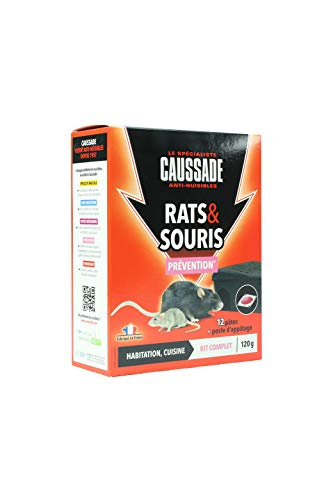 Photo de caussade-carspt120b-rats-souris-kit-traitement-12