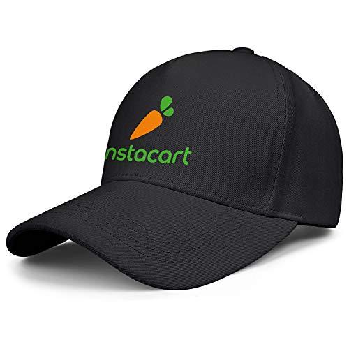 Verodley Unisex Instacart Baseball Hats Breathable Snapback Back Baseball Caps Adjustable Dad-hat Trucker Hat