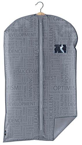 Domopak 8001410070241 Living tas Urban, polyester, grijs, 0,2 x 60 x 100 cm