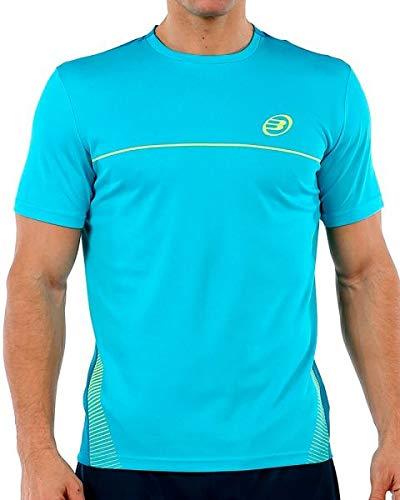 Bullpadel Camiseta Clivia, Hombre, Turquesa, S