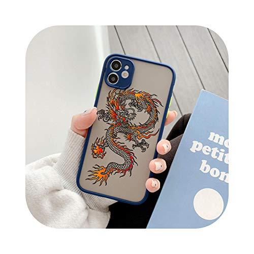 Cover per iPhone 11Pro, motivo: drago cinese, stile vintage, per iPhone 6 6S, iPhone 6, 6S Plus, iPhone 6, iPhone 6, iPhone 6S, iPhone 11Pro, con scritta in inglese 'Dragon Chines'