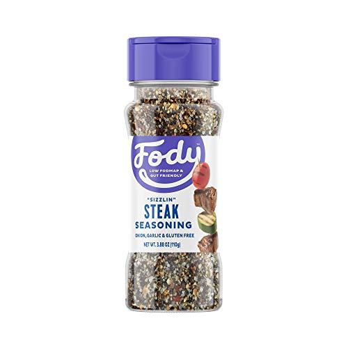 Fody Foods Vegan Steak Spice Blend | Flavorful Grilling Seasoning | Low FODMAP Certified | Gut Friendly No Onion No Garlic | IBS Friendly Kitchen Staple | Gluten Free Lactose Free Non GMO | 3.88 Ounce